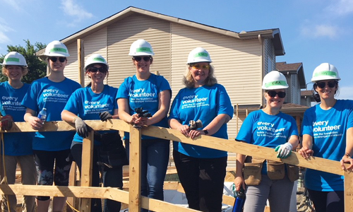 BLG builds with Habitat for Humanity